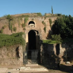 The Mausoleum of Emperor Augustus in Rome