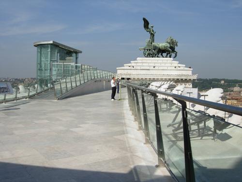 terrazza delle quadrighe