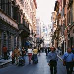 Esclusive Shopping in Via del Corso