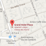 Grand Hotel Plaza – a 5 stars hotels in Rome